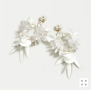 NWT J.Crew Bird of Paradise Statement Earring